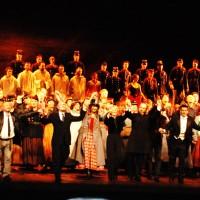 Applaus Forza del Destino, Monday November 14th 2011. Opera de Bastille, Paris. Foto: Henning Høholt