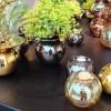 Finns Boble vaser, her i Sølv, Gull, Bronsje, Kobber til festlige og hverdags anledninger, elegant. Foto Henning Høholt