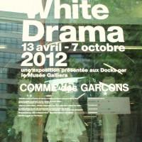 White Drama with Comme des Garcons. Photo: Tomas Bagackas