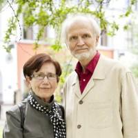 Oversetterne Kjell og Kari Risvik