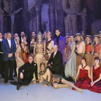 All participating in the Cleopatra-Ida Rubinstein production- Les Ballets Russes. 28. June 2012. Theatre des Champs Elysees. Paris