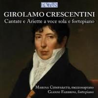 Girolamo Crecentini. Cover