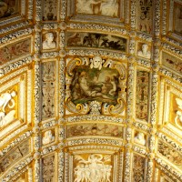 Ceiling decoration in the Doge Palace. Foto: Tomas Bagackas. All rights reserved.