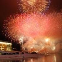 Firework, opera opening, Oslo 12.4.2008. foto:Tomas Bagackas