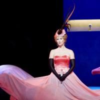Norina: Eli Kristin Hanssveen i Don Pasquale, siste akt. Foto Erik Berg