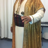 Kristian Benedikt as Othello in Munich, Foto; private