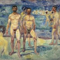 Bathing Men,1907-08