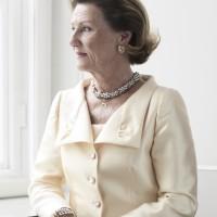 HM Dronning Sonja. Foto Sølve Sundsbø,  Det kongelige hoff