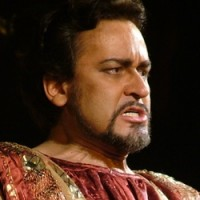 Marius Vlad as Otello in Bucharest.