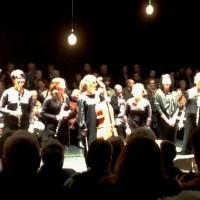 Oslo Sinfonietta, etter Lichtung av Salvatore SCIARRINO. Tv Christian Eggen. Foto Henning Høholt