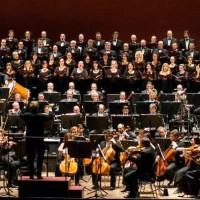 Roberto ABBADO conducting Ravel: Daphnis and Chloe in Firenze. Orchestra e Coro del Maggio Musicale Fiorentino Maestro del Coro: Lorenzo Fratini. Foto: Marco Borrelli