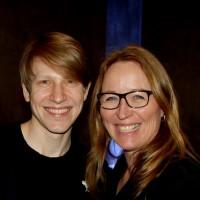 Andreas Heise, Osvald i Gengangere av Henrik Ibsen, som Marit Moum Aune har regi på. Koreografi er ved  Cina Espejord. Foto Henning Høholt