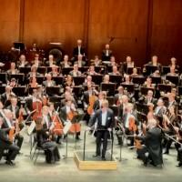 Christian Thielemann og Dresdner Staatskapelle i Paris 2014, klar til Ein Heldenleben. Foto Henning Høholt