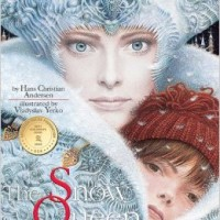 Cover to Hans Christian Andersens fairy tale the Snow Queen.