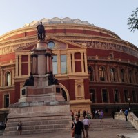Royal Albert Hall, seen from the Royal College of Music. 8th September 2014. foto Henning Høholt