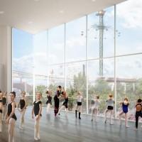 Nyt kulturhus på vei i Tivoli, dette skal blive hjemmet for Tivolis Balletskole og for Tivoli Garden, og får plass ved siden av Tivolis Konsertsal ud mod Tietgensgade.