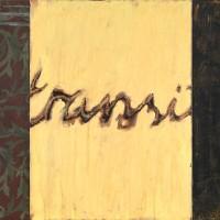"""KJELL NUPEN: Maleriet """"Transit"""" - et stort sammensatt motiv med typiske elementer, som denne kunstneren ofte arbeidet med. FOTO: BLOMQVIST"""