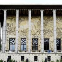 Palais de la Porte Doré. détail façade