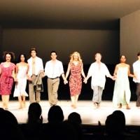 Applaus til flotte dansere i alle aldre - Pina Bausch Masurca. 12.2.2015 Foto. Tomas Bagackas