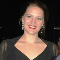Lise Davidsen på innvielsen av Kirsten Flagstad Salen i Hamar Kulturhus i 2014. Foto Henning Høholt