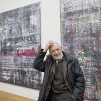 The Maler Gerhard Richter, 25.02.2015 at a Press presentation with his paintings in Albertinum by Staatliche Kunstsammlungen Dresden . Foto: Oliver Killig