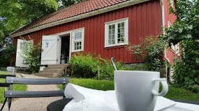 Hønse Lovisas hus sett fra Akerselven