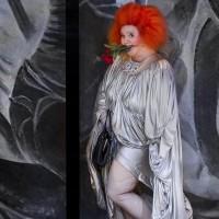 Viva la Mamma av Donizetti. Espen Langvik som Mamma. Foto: Jörg Wiesner