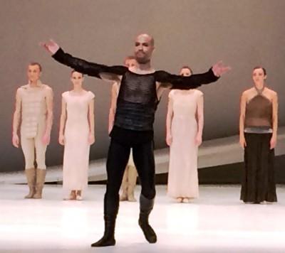 Alvaro Prieto as Tybalt in Romeo and Juliette, Monte Carlo, applaus 16.4.2015. Foto Tomas Bagackas