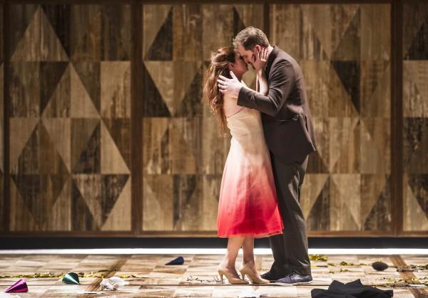 Violeta og Alfredo Aurelia Florian and Daniel Johansson. LA TRAVIATA 2015 Foto: Erik Berg.