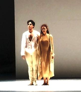 Stephan Bourgond and Anja Behrend as Romeo and Juliette, Monte Carlo, applaus 16.4.2015. Foto Tomas Bagackas