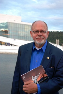 Henning Høholt redaktørog kritiker i Kulturkompasset.  2014-06-19 Foto Tomas Bagackas