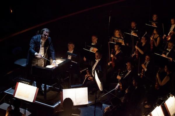 Peleas and Melisande in Firenze, Daniele Gatti and the Orchestra. Foto MMF Opera di Firenze