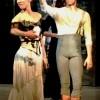 Yoel Carreno er nominert til Dansekritikerprisen for sine to helt forskjellige roller, Don José og Torreadoren Escamilio i Liam Scarletts ballettversjon av Carmen med Nasjonalballetten. Her fotografert fra aplausen fra hans første kveld som Don José med Yolanda Correa som Carmen, foto Henning Høholt