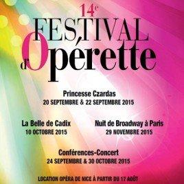 Operette Festival i Nice