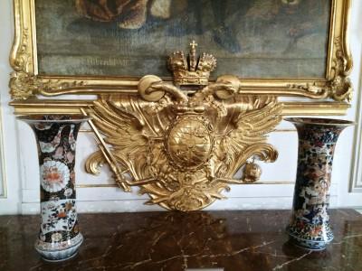 Interior detail, Nymphenburg Palace, Foto Henning Høholt