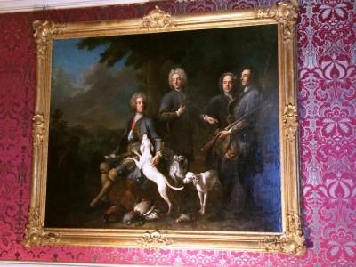 Painting at Nymphenburg Palace, foto Henning Høholt