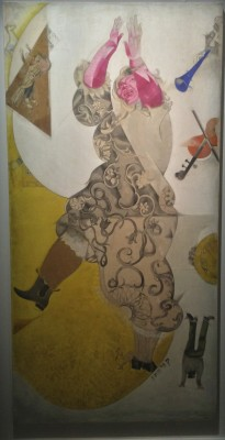 Marc Chagall, panel from the Yiddish Theatre, Moscow, 1920. Foto Henning Høholt