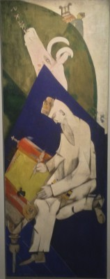 Marc Chagall, panels from the Yiddish Theatre, Moscow 1920. 4. Foto Henning Høholt