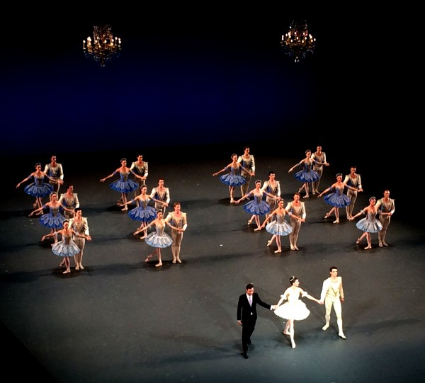 Thema and Variations by George Balanchine at Palais Garnier, Aplaus, foto Tomas Bagackas