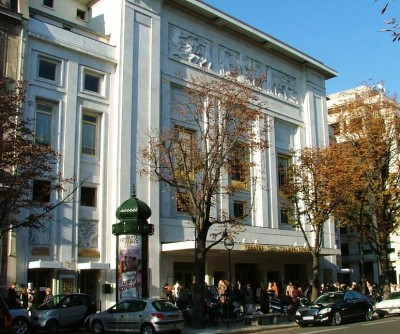 Theatre des Champs Éllysees, Paris ,Arkiv  foto 2007  Henning Høholt