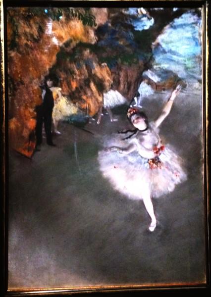 Edgar Degas, Ballet,          L´Etoile, foto Henning Høholt