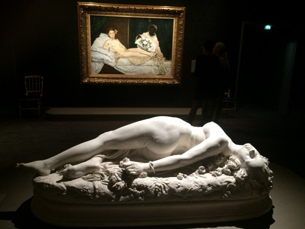 Beautiful Marbre sculpture at Musée d´Orsay.Foto Henning Høholt