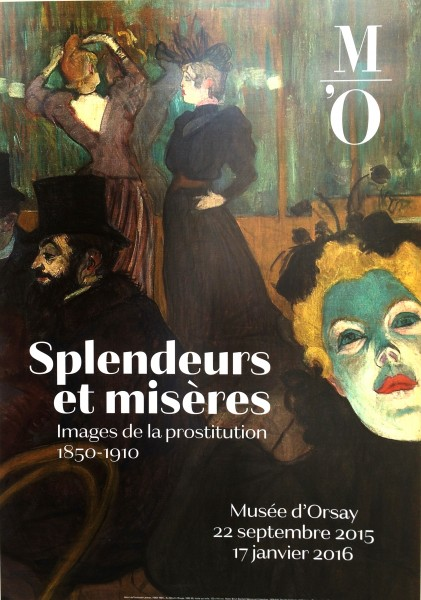 SPLENDEURS ET MISÈRES at Musée d´Orsay, Paris is a very interesting exposition. Presented intil 17. Januar 2016. Foto Henning Høholt