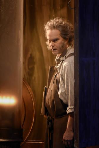 Gerald Frey as Hans Sachs. Foto Vincent Pontet.