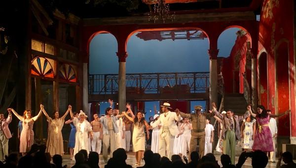 Applause after Carmen La Cubana, world premiere at Theatre du Chatelet. Paris, foto: Romuald Sip.