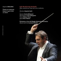 Poster - ELIAS - oratorio by Felix Mendelssohn - Bartholdi conducted by Daniele Gatti