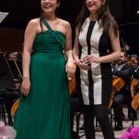 Ji Yoon Lee & Liya Petrova Joint 1st Prize Winners of the 2016 Carl Nielsen International Violin Competition First Prize Winners of Carl Nielsen International Violin Competition 2016. Foto © Knud Erik Joergensen