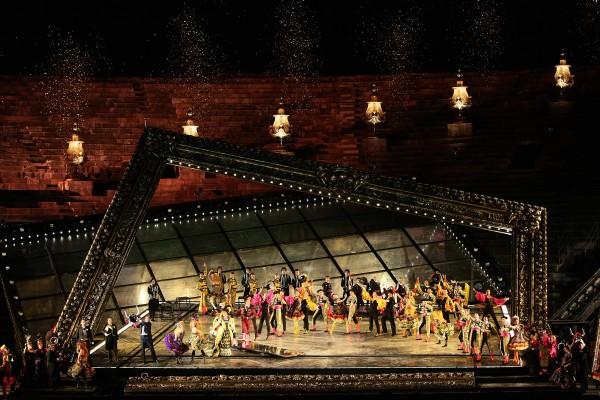 La Traviata in Verona, foto Ennevi