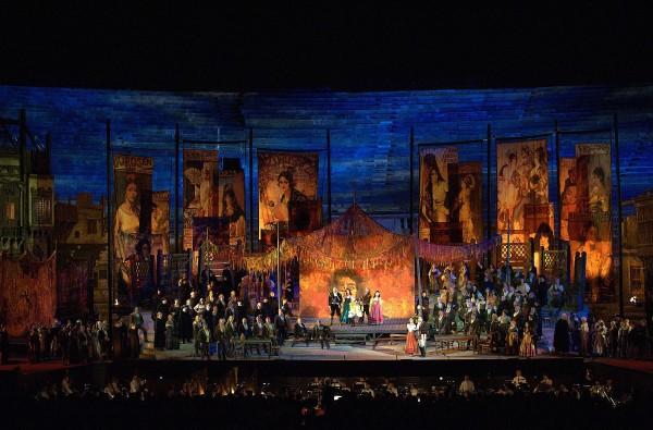 Arena di Verona, Carmen, foto Ennevi.