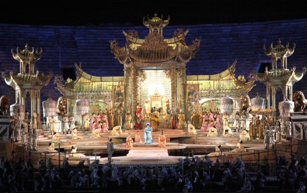 Turandot in Verona